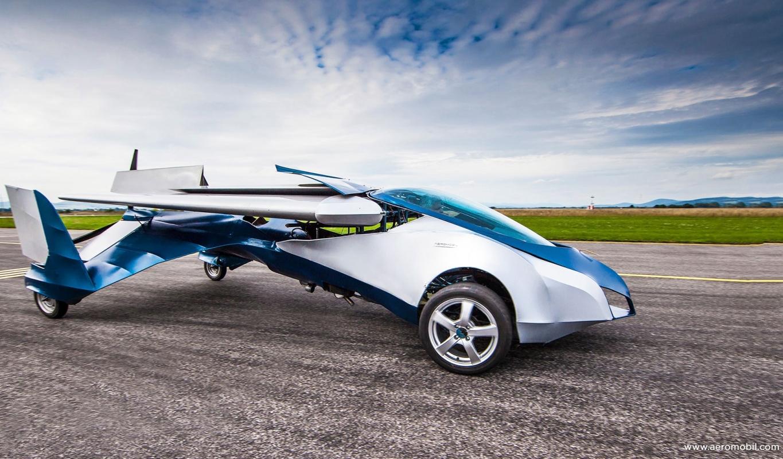 AeroMobil – личният ви летящ автомобил!