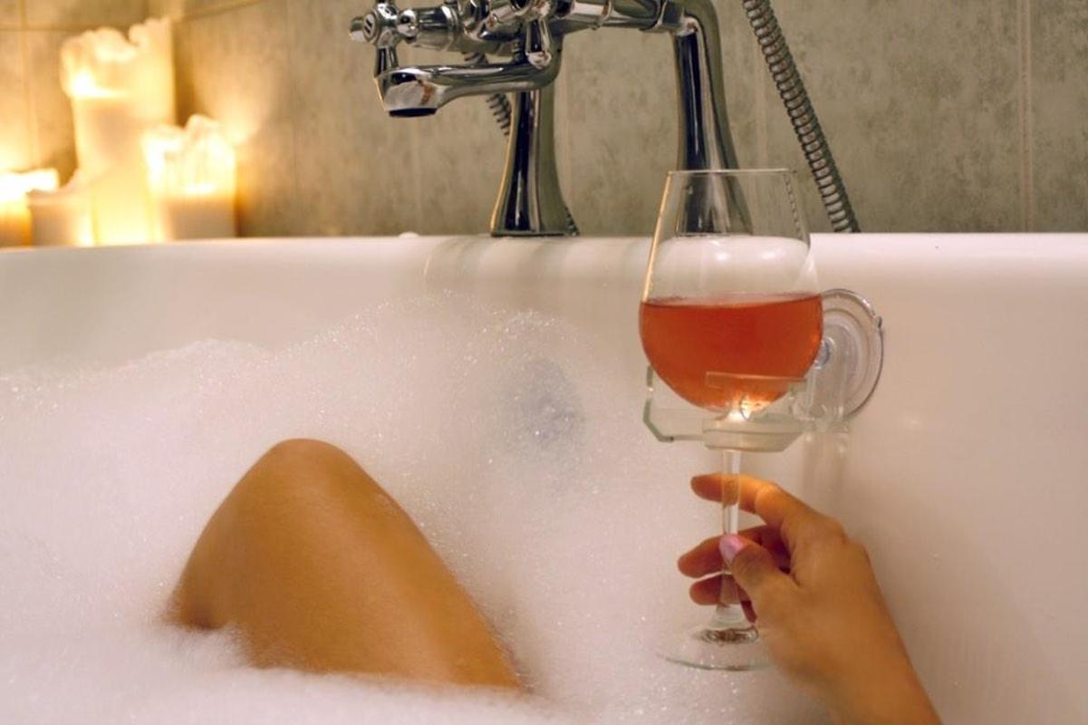 Виното вече ще има място в банята
