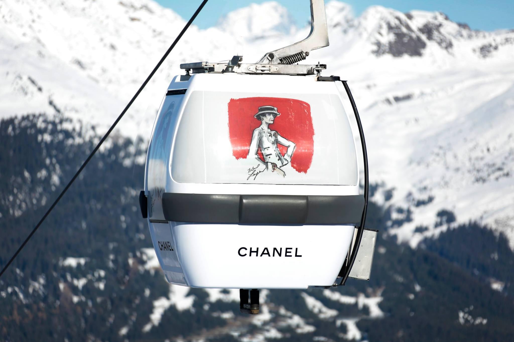 Chanel с прекрасен нов бутик в Куршевел