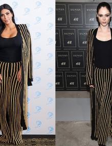 Моден двубой: Ким Кардашиян срещу Коко Роша