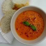 Крем супа от чушки с орехи