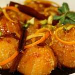 Карамелизирани мандарини