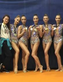 медала, художествена гимнастика